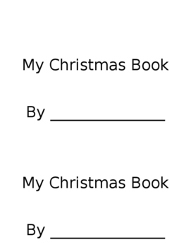 Cut and Paste Christmas Book
