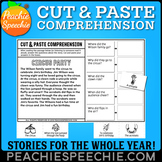 Cut and Paste Comprehension Stories for the WHOLE YEAR