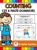 Cut and Paste Counting Dominoes
