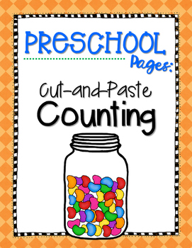 Cut-and-Paste Counting {Jellybeans}