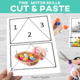 Cut and Paste Fine Motor: April