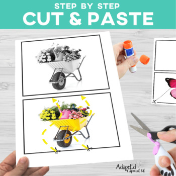 Cut and Paste Fine Motor: May