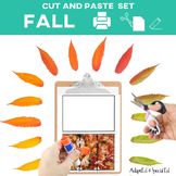 Cut and Paste Fine Motor: September