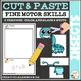 Cut and Paste Fine Motor Skills Puzzle Worksheets: BUNDLE #1