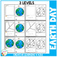 Cut and Paste Fine Motor Skills Puzzle Worksheets: Earth Day