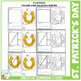 Cut and Paste Fine Motor Skills Puzzle Worksheets: St. Patrick's Day