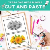 Cut and Paste Fine Motor: Year BUNDLE