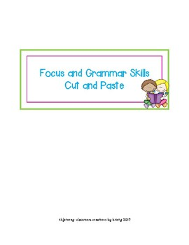 Cut and Paste Grammar and Skills