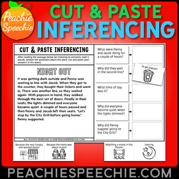 Cut and Paste Inferencing Stories