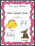 Cut and Paste Initial Consonant Sounds