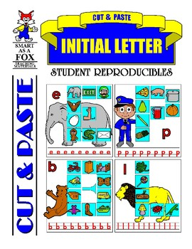 Cut and Paste Initial Letter Sounds