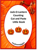 Halloween Math Center Count to 20 Fine Motor Cut and Paste