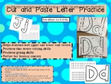 Cut and Paste Letter Sorting