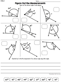 Cut and Paste Math Activities for Fourth Grade {ALL Standards} NO PREP