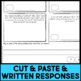 Cut and Paste Math Activities for Third Grade {MG & G} NO PREP