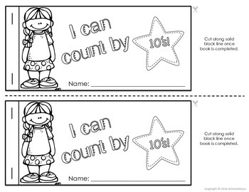 Cut and Paste Math Booklets - Kindergarten