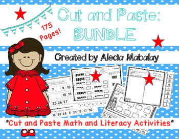 Cut and Paste Math and Literacy Bundle
