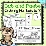 Ordering Numbers to 10 - Cut and Paste (Order Numbers One