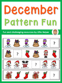 Cut and Paste Winter Pattern Fun