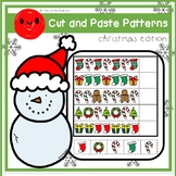 Cut and Paste Patterns (Christmas edition) + editable template