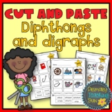 Cut and Paste Phonics, 19 dipthongs and digraphs, Workshee