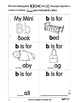 Cut and Paste Phonics Book 1: Single Sounds for Kindergarten