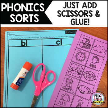Cut and Paste: Phonics Sorts