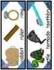 Cut and Paste Phonics Worksheets With Scaffolding Picture Cards