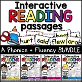 Phonics and Fluency Interactive Reading Passages Bundle