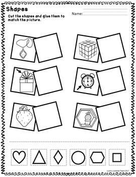 Cut and Paste Recognition: Numbers, Letters, Shapes and Colors