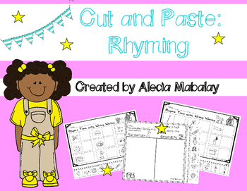 Cut and Paste: Rhyming