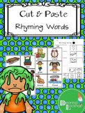 Cut and Paste Rhyming Words