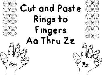 Cut and Paste Rings to Fingers Aa Thru Zz