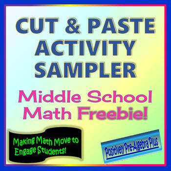 Cut and Paste Sampler Freebie