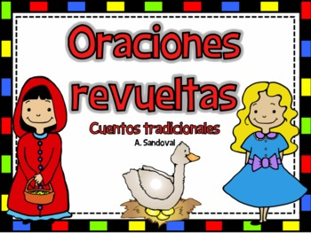 Scrambled Sentence Fairy Tales in Spanish