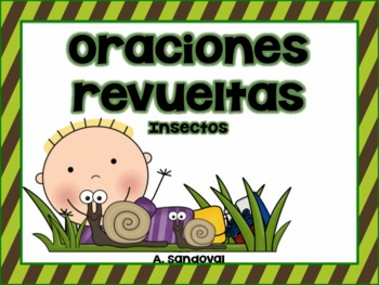 Scrambled Sentences Insects in Spanish