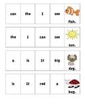 Cut and Paste Sentences Practice