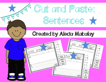 Cut and Paste: Sentences (Sight Words)