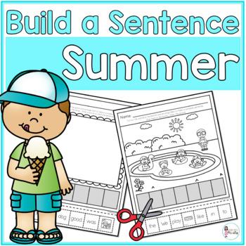 Cut and Paste Sentences_Summer