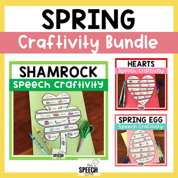 Spring Holidays Speech Craft Bundle