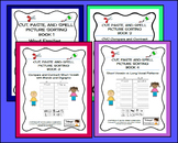 Cut and Paste & Spell Picture Sorting Books 1, 2, 3 & 4 -Developmental Spelling
