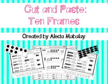 Cut and Paste: Ten Frames