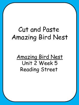 Cut and Paste Unit 2 Reading Street  Amazing Bird Nests Consonant Digraphs
