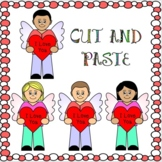 Cut and Paste Valentine's Day Crafts The Cute Little Cupids