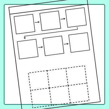Cut and Paste Worksheet Templates - Spots to Paste Clip Art for Commercial Use