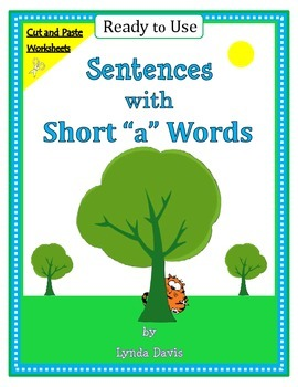 """Short Vowels - Sentences with Short """"a"""" Words"""