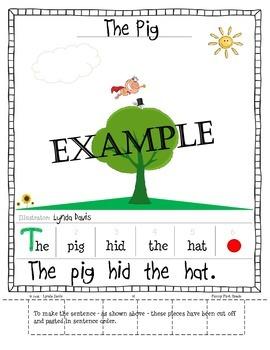 """Short Vowels - Sentences with Short """"i"""" Words"""