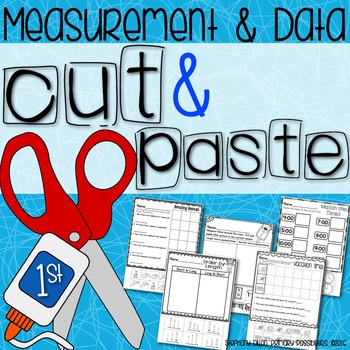 Cut and Paste Worksheets for First Grade ( Measurement ) by Stephany ...