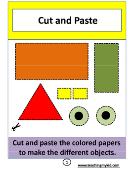 End of the year activities - Cut and Paste