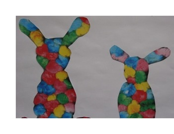 Cut and Paste, craft, Cotton Ball Fun (early childhood)